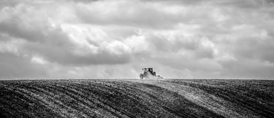 Lonely farmer