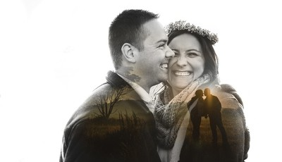 Safari Engagement Shoot - Double Exposure