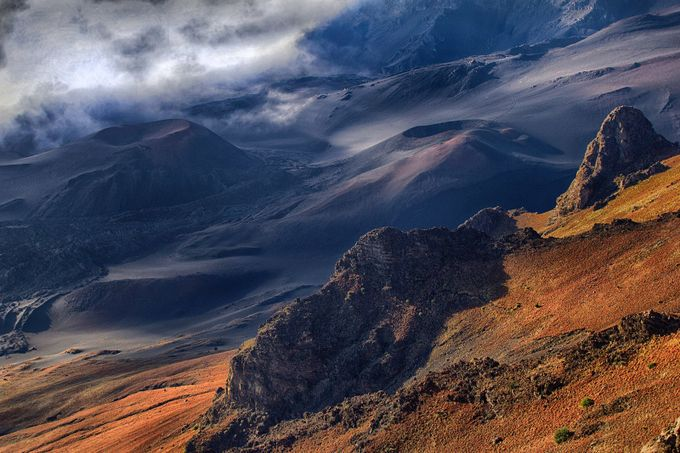 Haleakala Vents and Outcroppings by chriskompst - Creative Travels Photo Contest