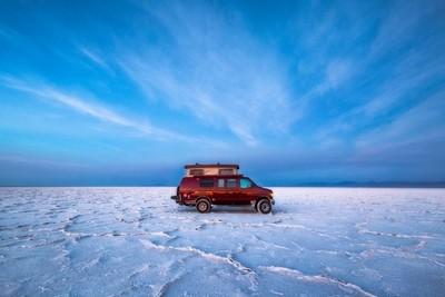 Dawn on the Salt Flats
