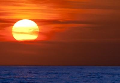 Lake Michigan Sunset-96c3