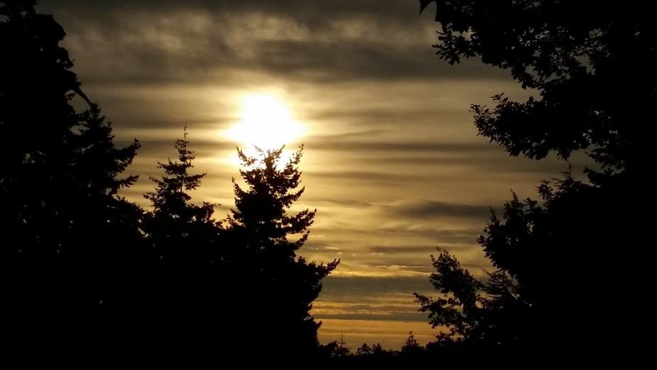 Victoria, bc sunrise