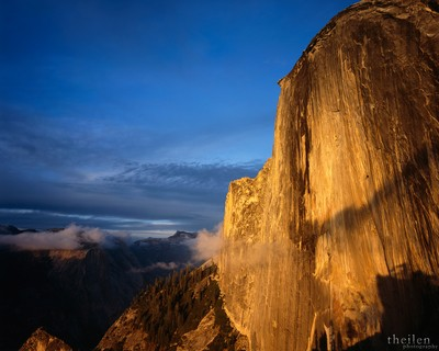 Half Dome from Diving Board