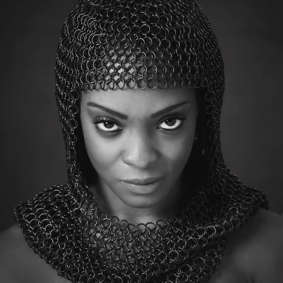 Anna by Smilinglenses - Black And White Female Portraits Photo Contest