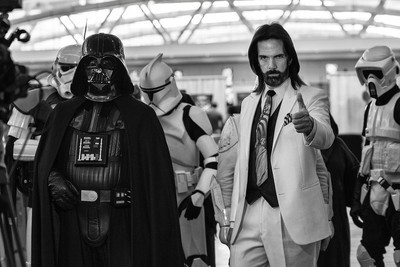 Billy Mitchell and Darth Vader