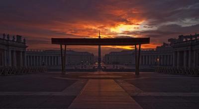 Dawn in Rome