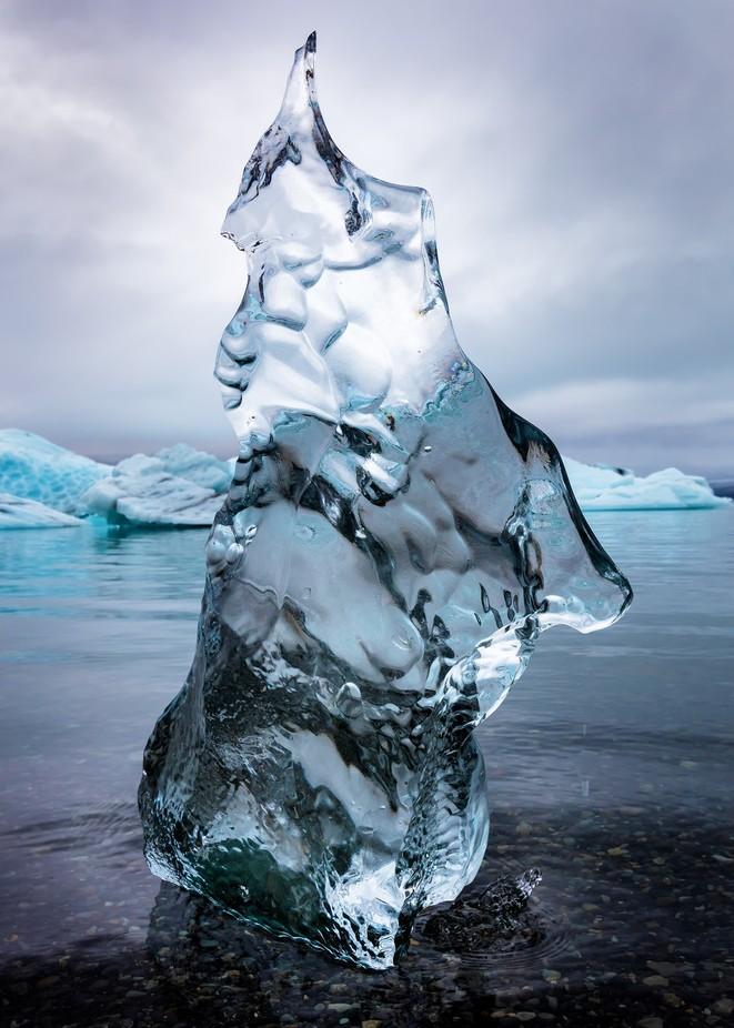 Portrait of a Frozen Dancer by TrueNorthImages - Semitransparent Photo Contest
