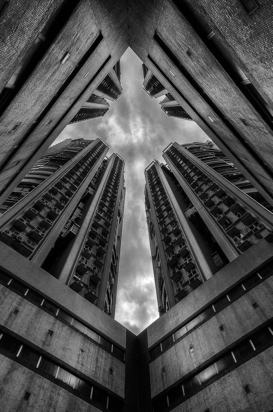 Flying Crucifix by ewill - Black And White Architecture Photo Contest