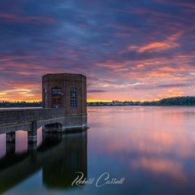 Sunrise at Pitsford Reservoir