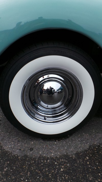 Cool white wall tire