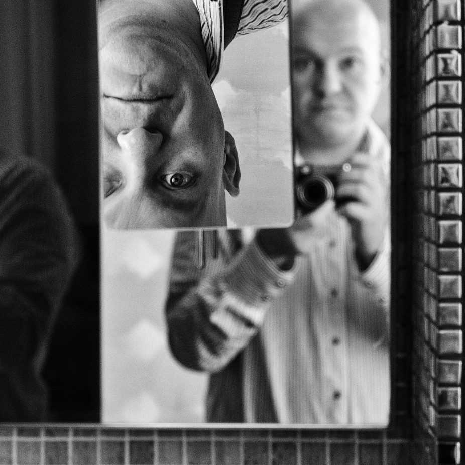 Hotel selfie by jussikirjavainen - Selfies In Black and White Photo Contest