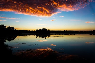 Early October Sunrise.