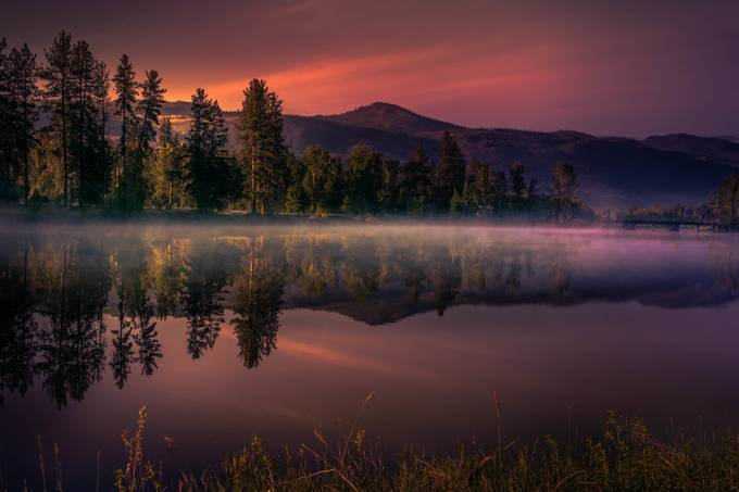 REFLECTIONS by raulweisser - Lakes And Reflections Photo Contest