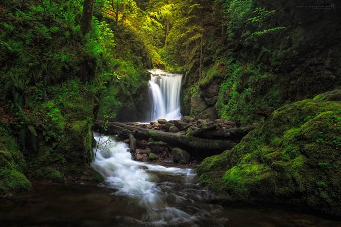 Final Cascade by ChaospixelPhotography - Sweeping Landscapes Photo Contest
