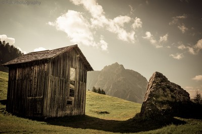 The Cabin and the Rock