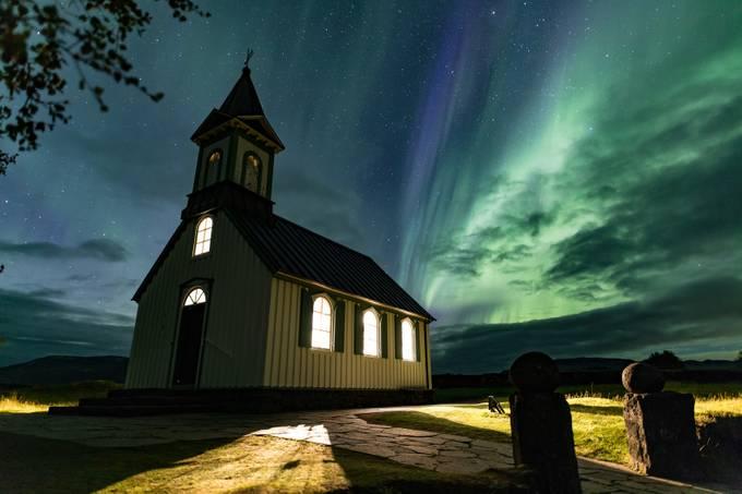 Thingvellir Aurora 1 by evanguarino - Iceland The Beautiful Photo Contest