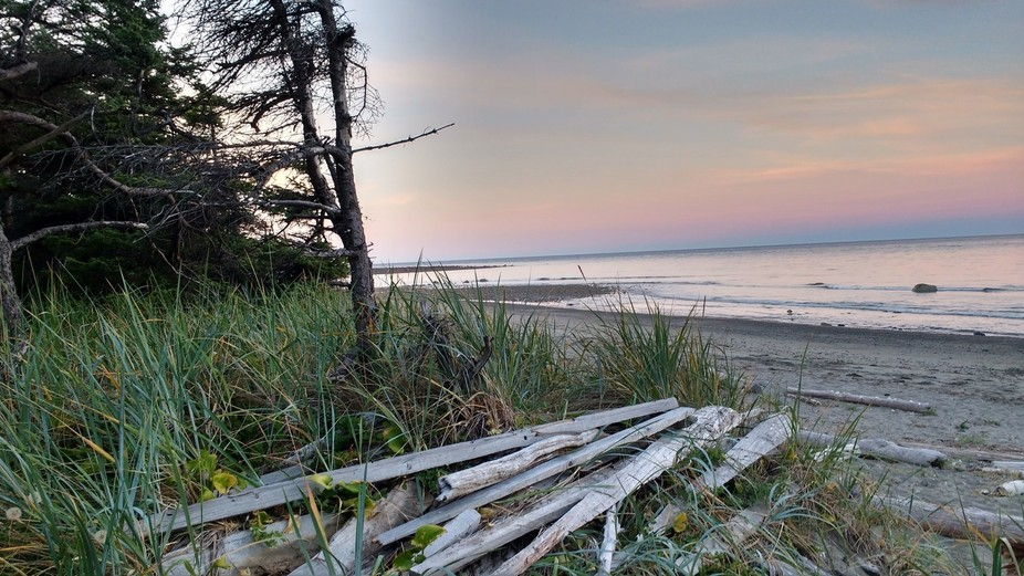 I was visiting friends in Skidegate, Haida Gwaii, B.C.  in August 2016, with a group from my Chur...