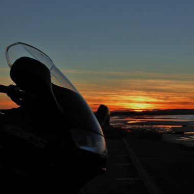 As the Sun goes down ............ :-)