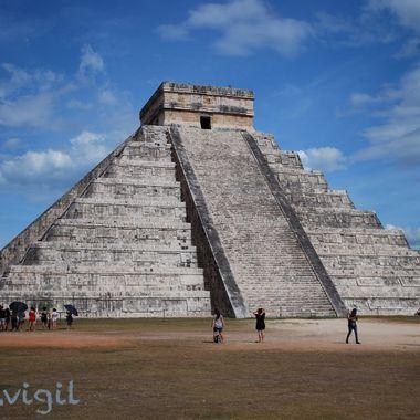 Chichen Itza - Mayan ruins on Mexican Yucatan Peninsula