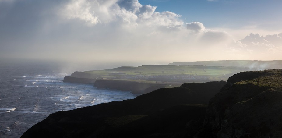 Early morning on the rugged North Yorkshire Coastline