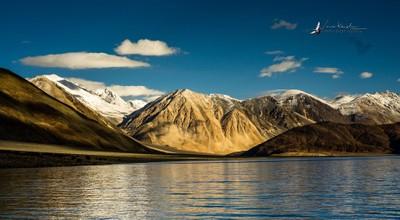 Pangong Tso and The Himalayas