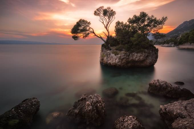 Brela Sunset by TomazKlemensak - Stillness Photo Contest