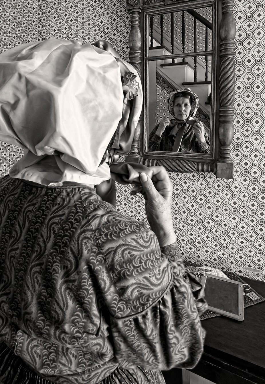 Heading Out by terryc - The Face in the Mirror Photo Contest
