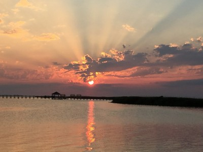 Sunset outer banks