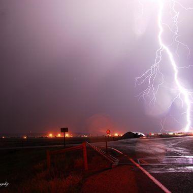 Big lightning bolt