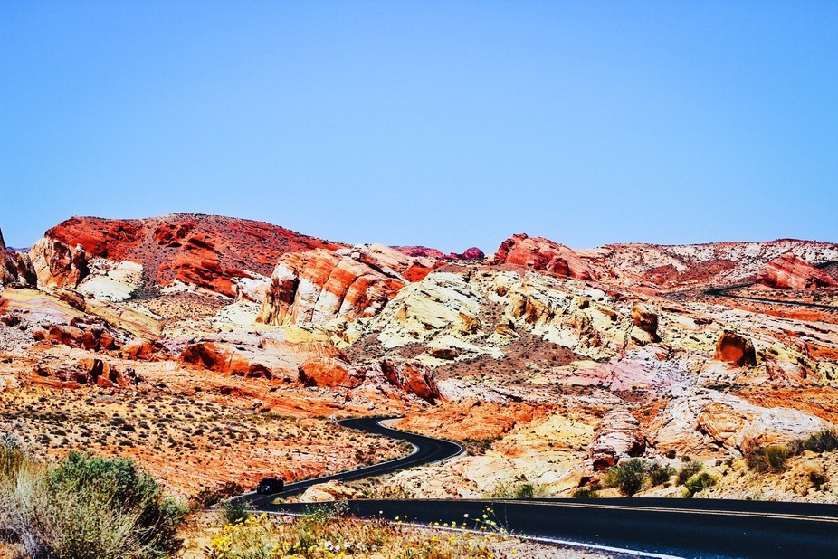 Beginning of summer last year and I decided to visit The Valley of Fire here in Las Vegas, is 15 ...