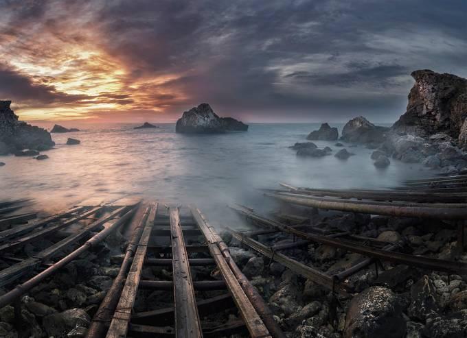 Seascape by ArtistGND - Empty Railways Photo Contest