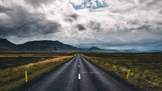 Streets #2 / Iceland by SebastianWarneke - Composition And Leading Lines Photo Contest