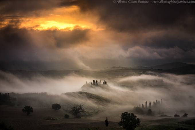 Waves of fog by albertoghizzipanizza - Mist And Drizzle Photo Contest