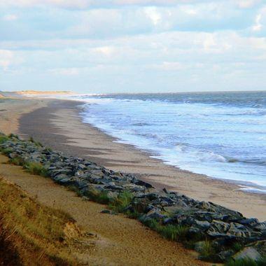 Caister Beach, Norfolk, UK.