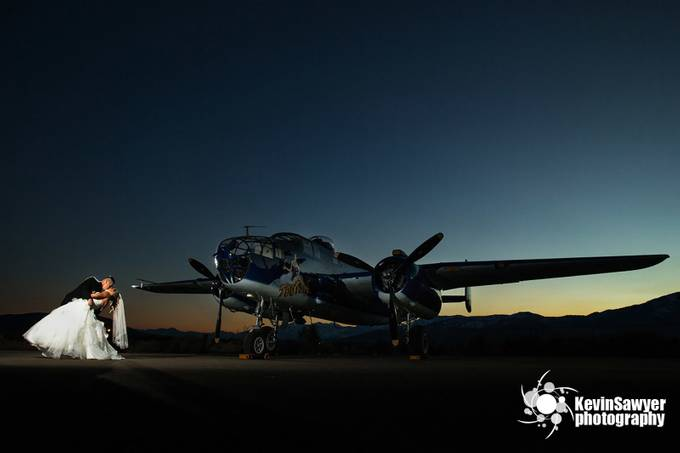 Wedding Bomber! by kevinsawyerphotography - Aircraft Photo Contest