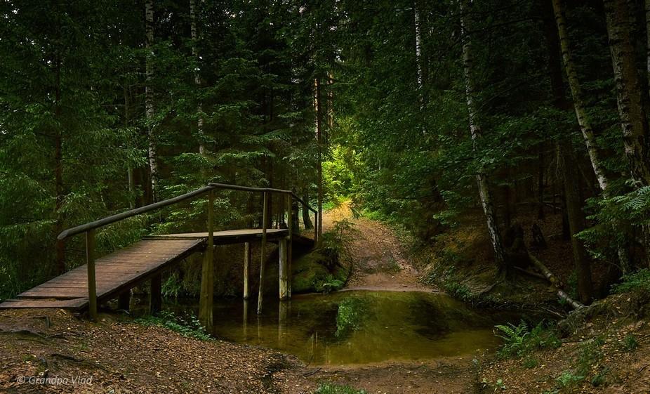 """State Landscape Reserve """"Blue Lakes"""", Minsk region, Belarus"""