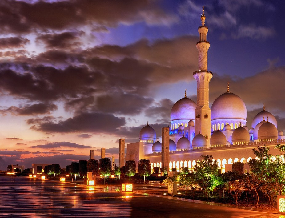 One of the majestic place found in United Arab Emirates, an opportunity to capture the place duri...