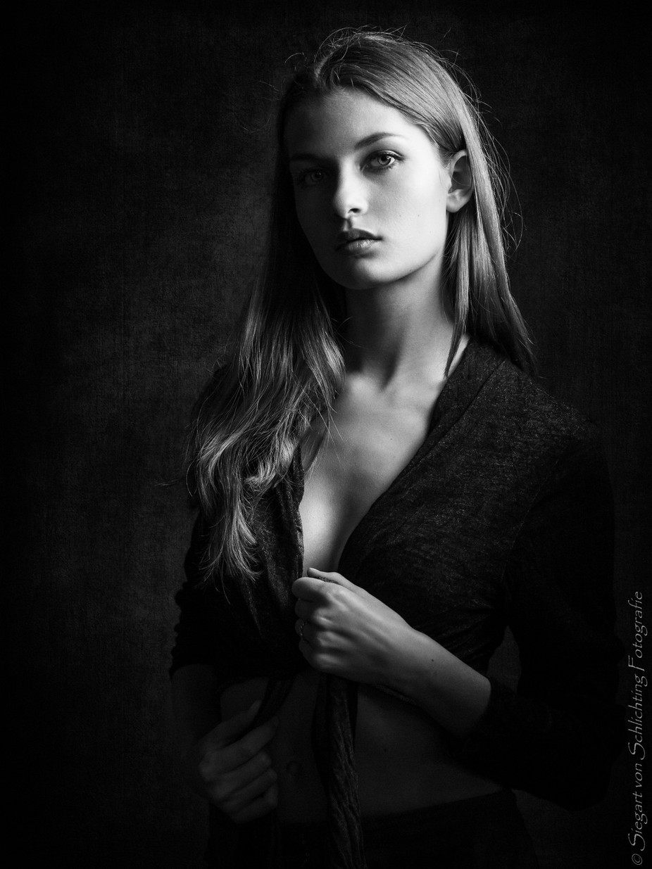 Laura by siegart - People In Black And White Photo Contest
