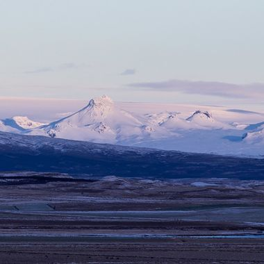 This is a old volcano in south of Iceland