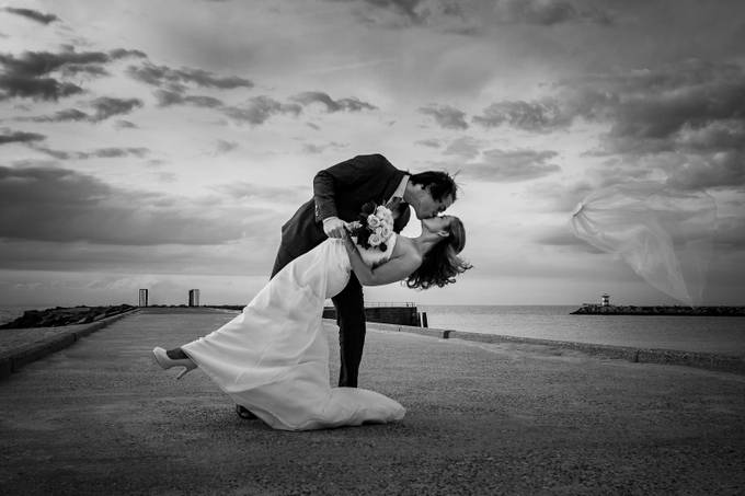 Gone with the wind by pacovanleeuwen - Candid Wedding Moments Photo Contest