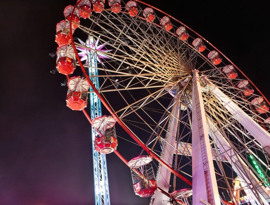 Nottingham Goose Fair, Night Ride