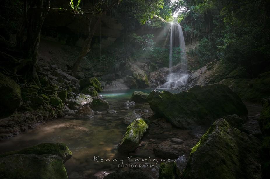 Rio Guama, AKA Gozalandia, San Sebastian, Puerto Rico, I take my journey into the river Guama ver...