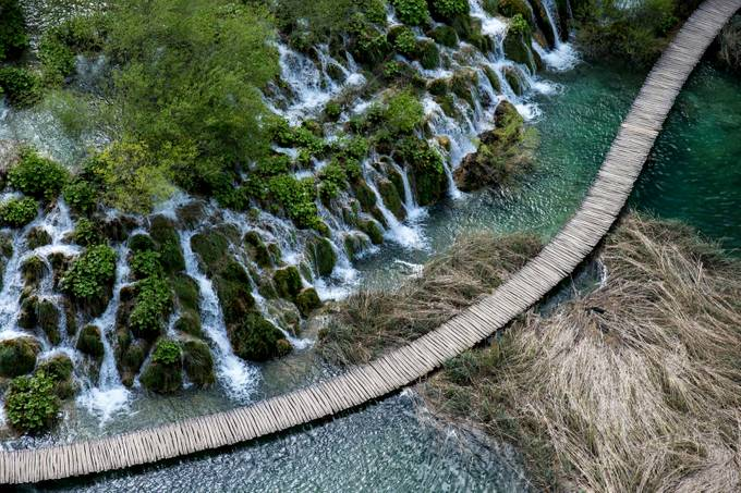 Path on Plitvice Lakes by mdekanic - Streams In Nature Photo Contest