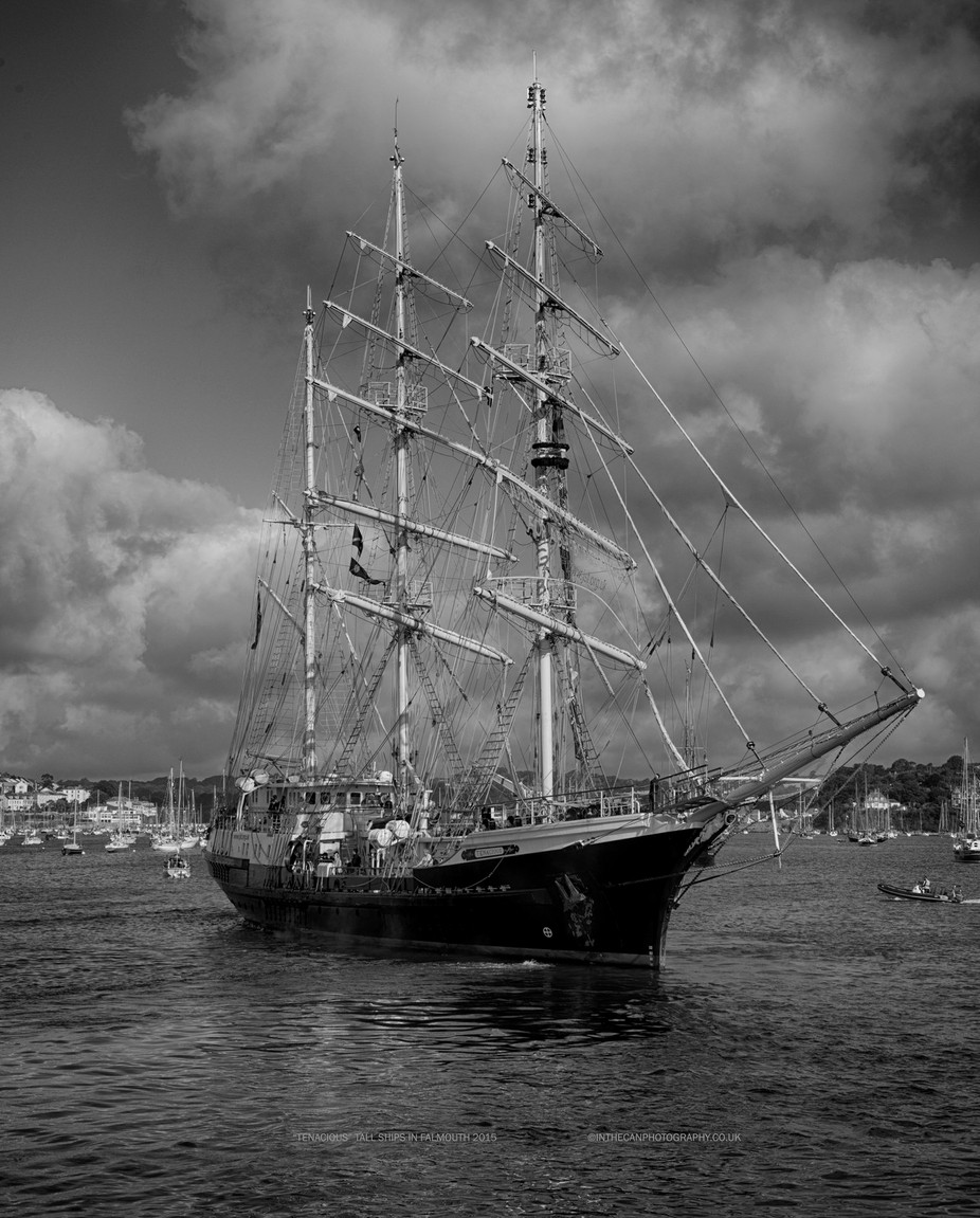 Tall ships in Falmouth 2015.
