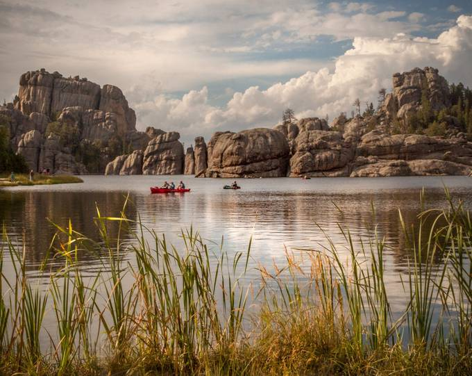 Sylvan Lake by EvaBareis - Spectacular Lakes Photo Contest