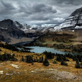 Taking a hike at the summit of Glacier National Park takes you to this beautiful Hidden Lake