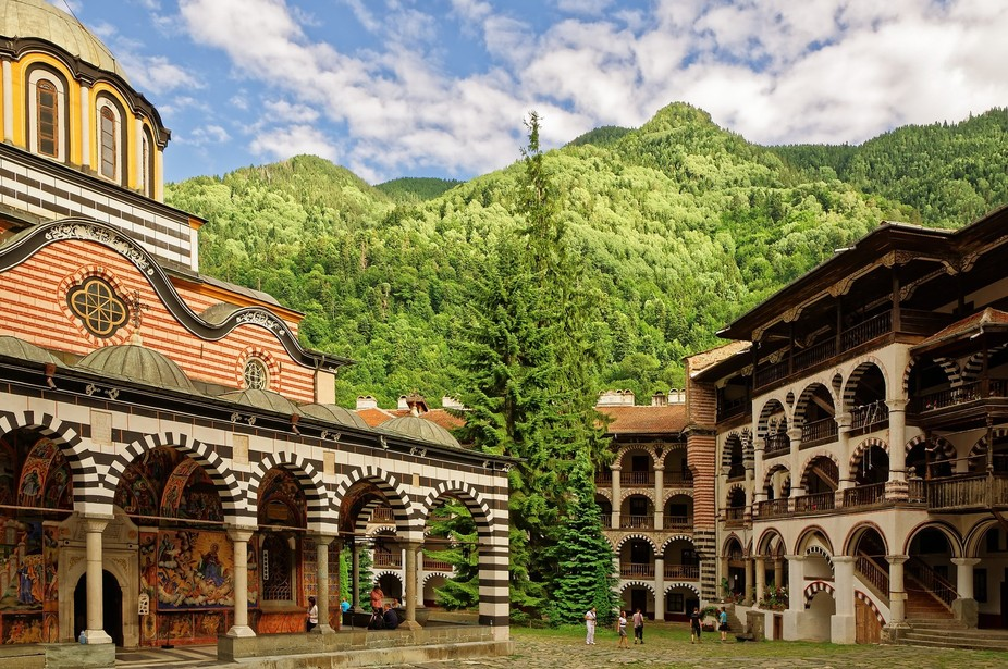 Rila monastery is the largest Orthodox Christian monastery in Bulgaria. It is regarded as a miles...