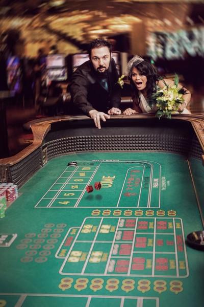 Wedding Craps in Vegas