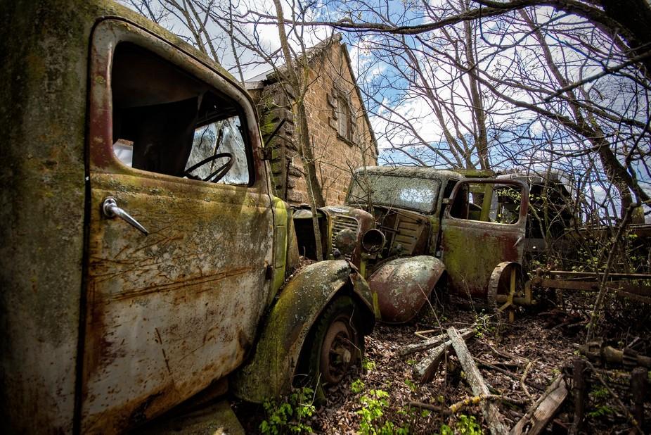 Old Commer vans