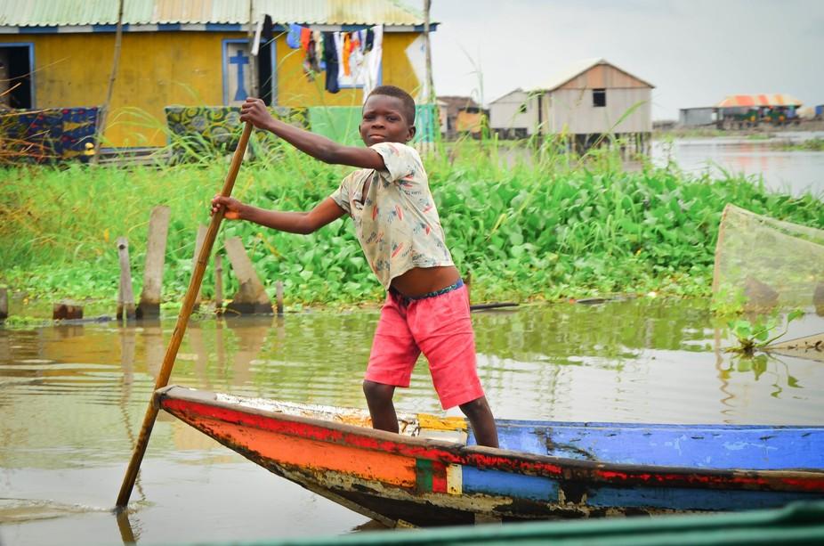 Shot in Benin, West Africa. Ganvie, The City on Stilts